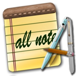All Note - Notepad Notes and Memo with Password