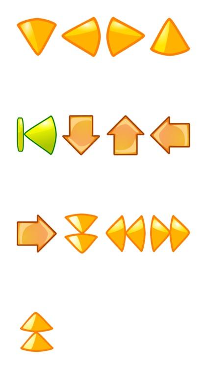 Arrows Six Sticker Pack