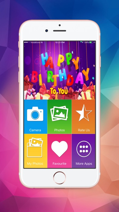 Name and Photo on Birthday Cakes screenshot one