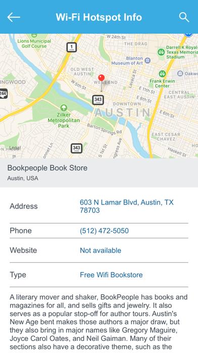 Austin Wifi Hotspots   App Price Drops