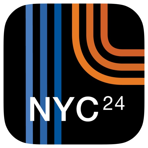 NYC Subway 24-Hour KickMap (Universal)