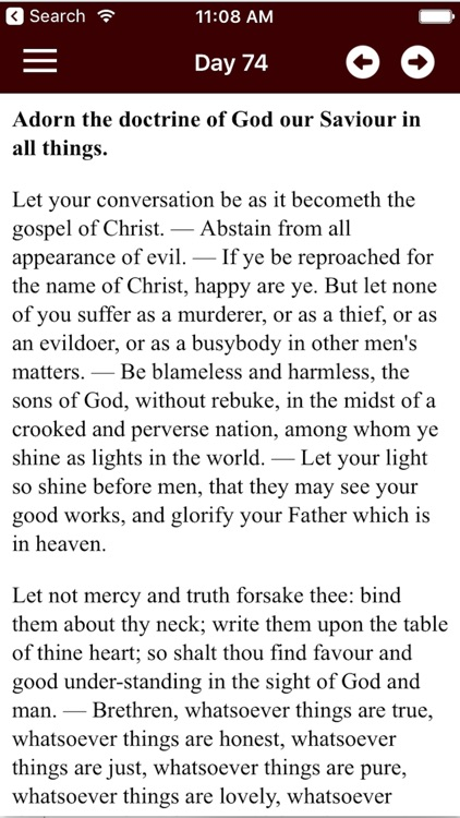 CATHOLIC BIBLE & DAILY DEVOTION screenshot-4