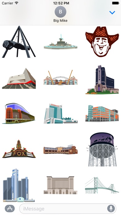 Screenshot #5 for Detroit Sticker Collection