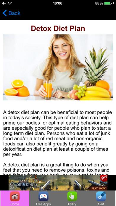 Detox Diet Plan & Detox Diet Recipes screenshot one
