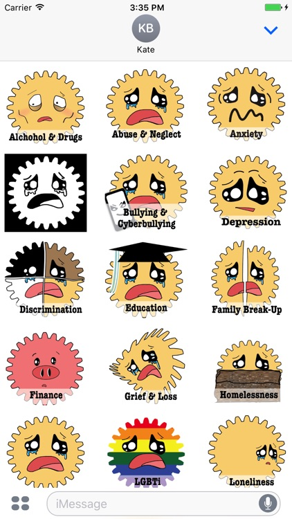 Mental Health Stickers screenshot-3