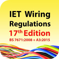 iet wiring regulations 17th edition on the app store rh itunes apple com iee wiring regulations 17th edition pdf free download wiring regulations 17th edition amendment 3
