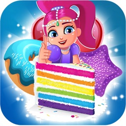 shimmer cookie jam - candy cake