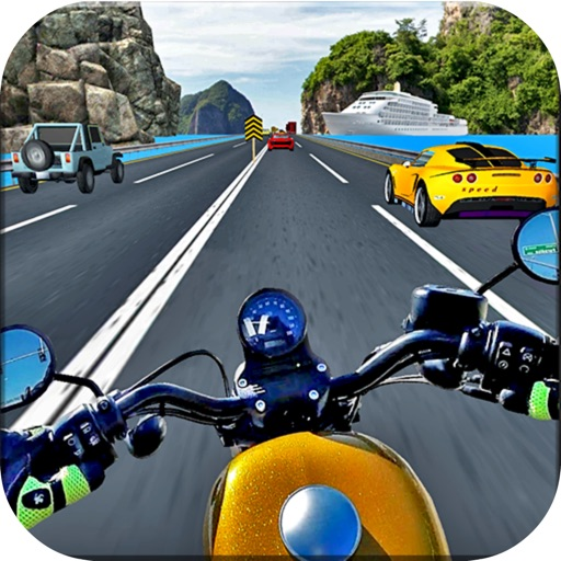 Crazy Bike Traffic Racing Free
