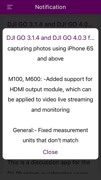 Firmware Notification For Dji Phantom screenshot-4
