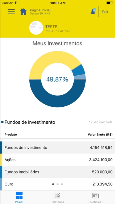 Investimentos BB screenshot