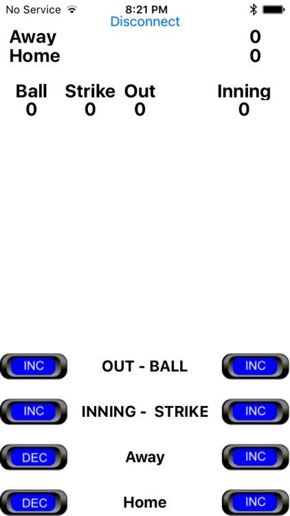 Baseball Scoreboard Controller screenshot-3
