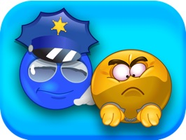 Express yourself and show your support for law enforcement with these one of a kind animated emojis