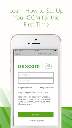 Dexcom G5 Mobile Simulator On The App Store