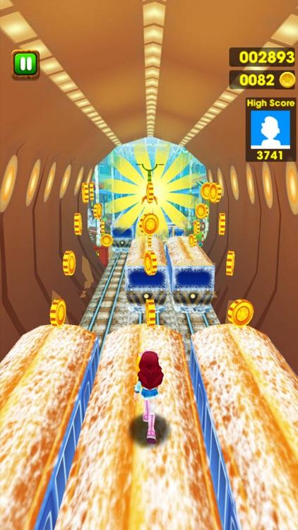 Frozen Princess Subway Surf Run screenshot-3