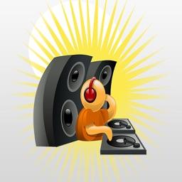 DJ Producer Trap EDM Dance Party Stickers