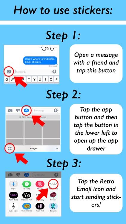 Retro Emoji screenshot-3