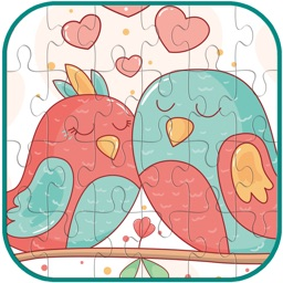 lovely Birds Jigsaw Puzzle Game For Kids and Adult