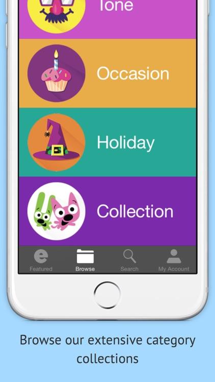 Hallmark eCards app image