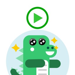 Animated Cute Baby Dinosaur