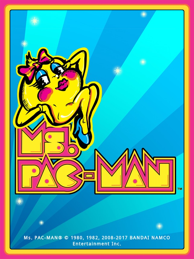 ms pac man for ipad lite on the app store