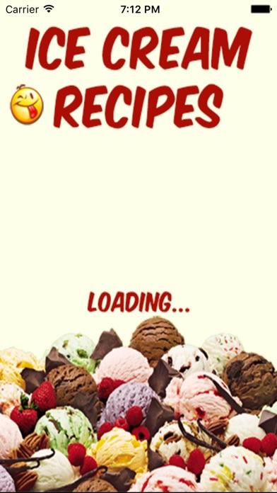 Ice Cream Recipes review screenshots