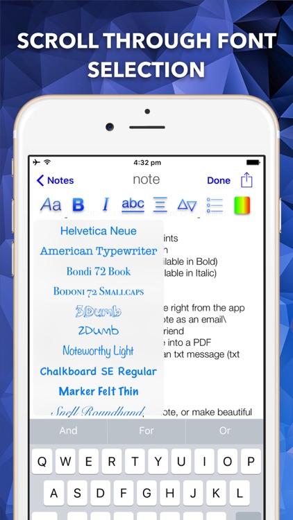 Style Notes screenshot-0