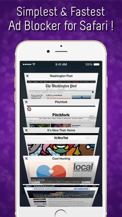Block Ad Mobile - Privacy, Media and Ad Blocker