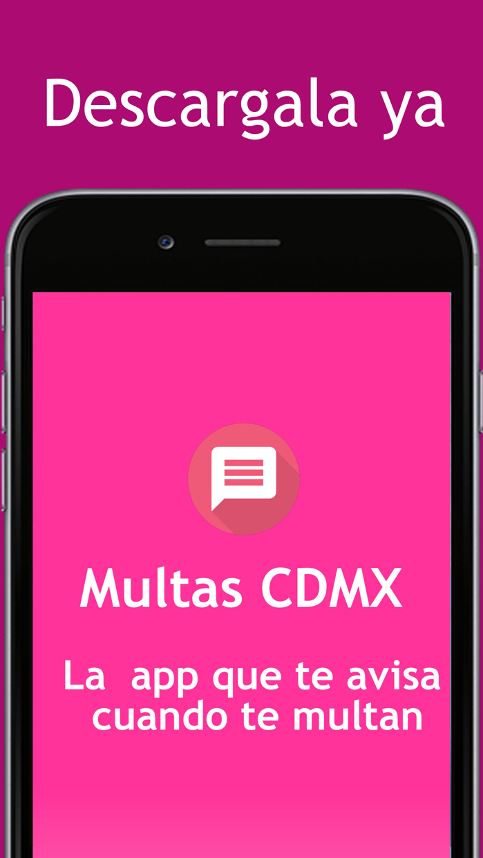 Multas CDMX Screenshot