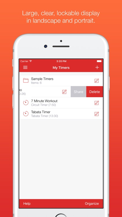 Seconds Pro - Interval Timer for HIIT & Tabata screenshot-4