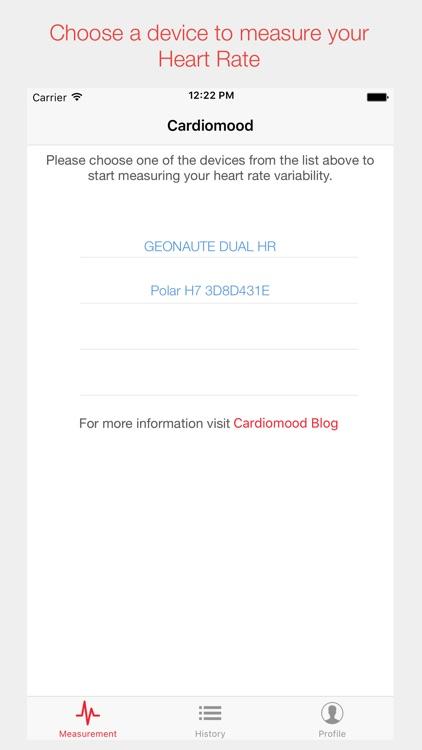 CardioMood - heart rate variability expert tool screenshot-3