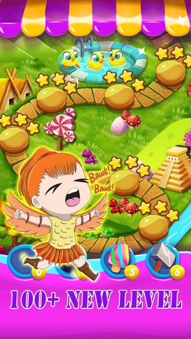 Jelly gems matching games screenshot three