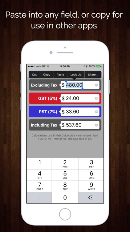 Canada Sales Tax Calculator - GST, HST, PST, & QST screenshot-3