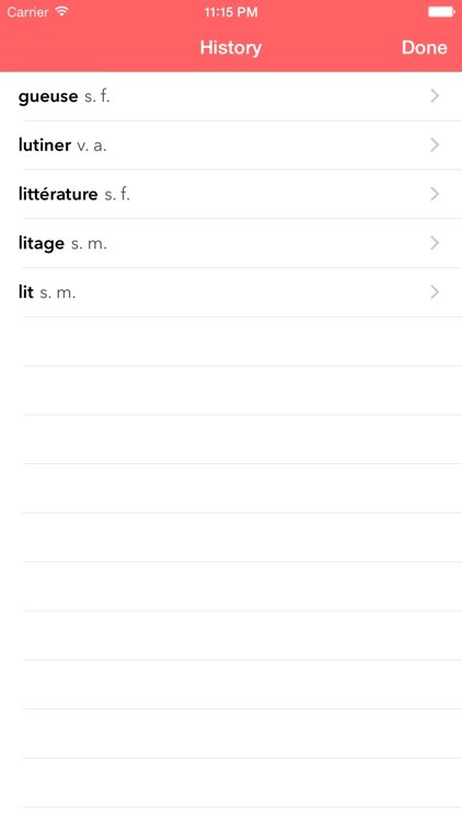 Le Littré French Dictionary screenshot-3