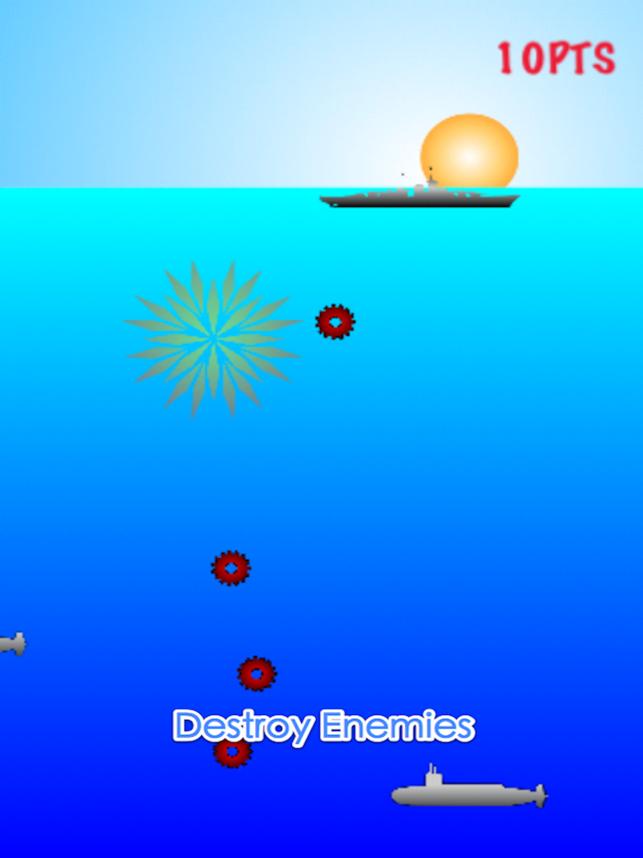 Battleships vs Submarines - Naval Battle, game for IOS