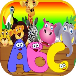 ABC Alphabet Animal Flashcards Game for Kids Free