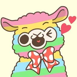 Llama Alpaca Animated & Cute