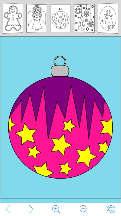 My Holiday Coloring Book screenshot-4