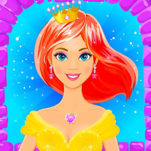 Одевалки Принцессы - игры для девочек