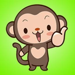 Best Monkey Stickers
