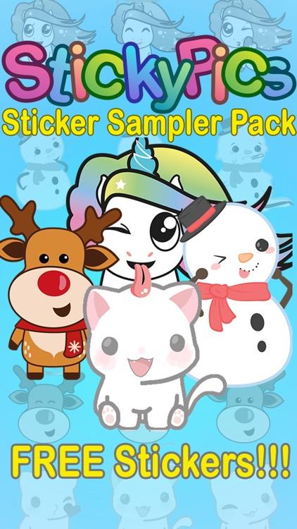 StickyPics Sticker Sampler