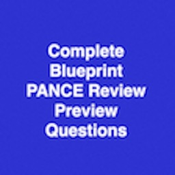 Complete PANCE & PANRE Preview Questions Free