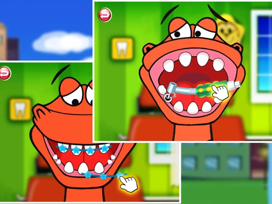 Dr. Dino -Doctor & Dentist games for boys girls на iPad
