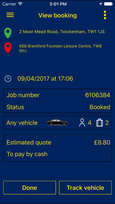 Parker Car Service screenshot four