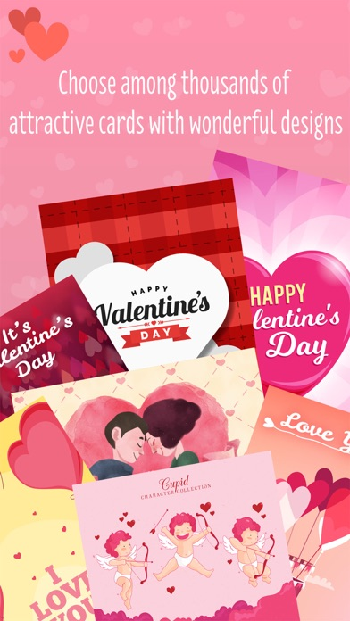 Love cards - card creator for valentines day idea screenshot one