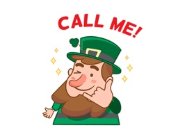 St. Patrick's Day - Text Message Stickers Pack