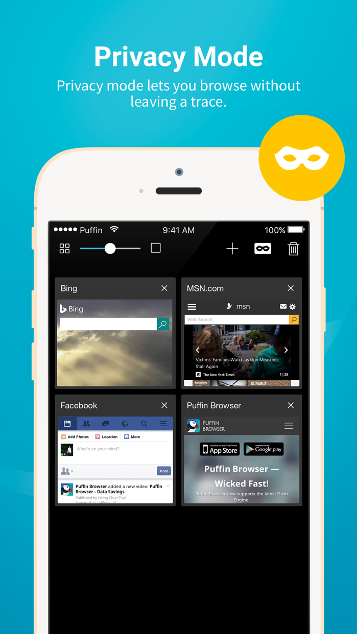 Puffin Browser Pro Screenshot