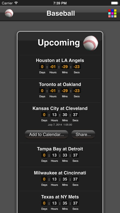 Baseball Games review screenshots