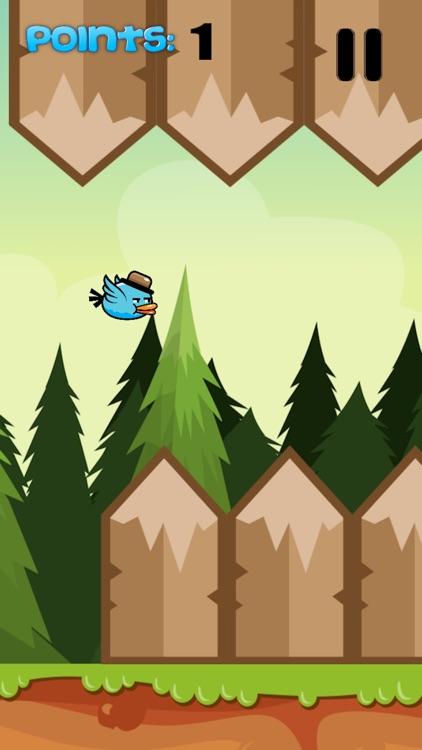 BlueBird - Addictive Flappy Game for Teens screenshot-3