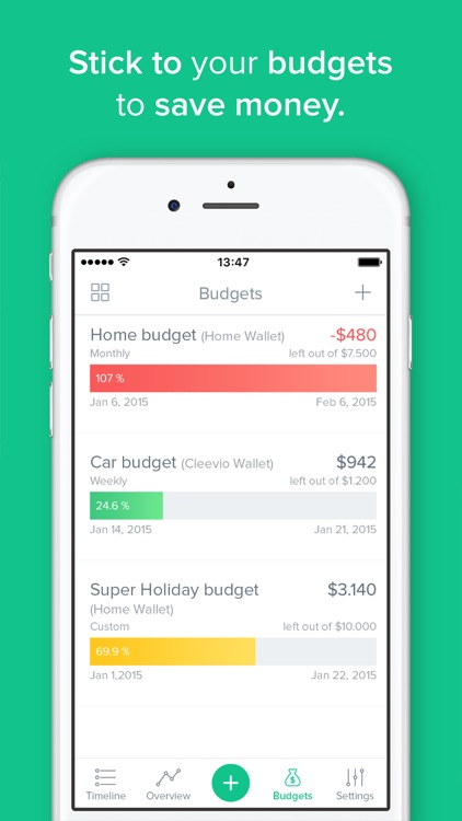 Spendee - budgeting app, money & expense tracker screenshot-3