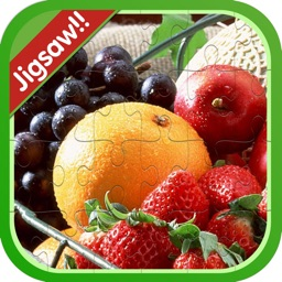Fruit And Vegetable Jigsaw Puzzle For Kids Toddler